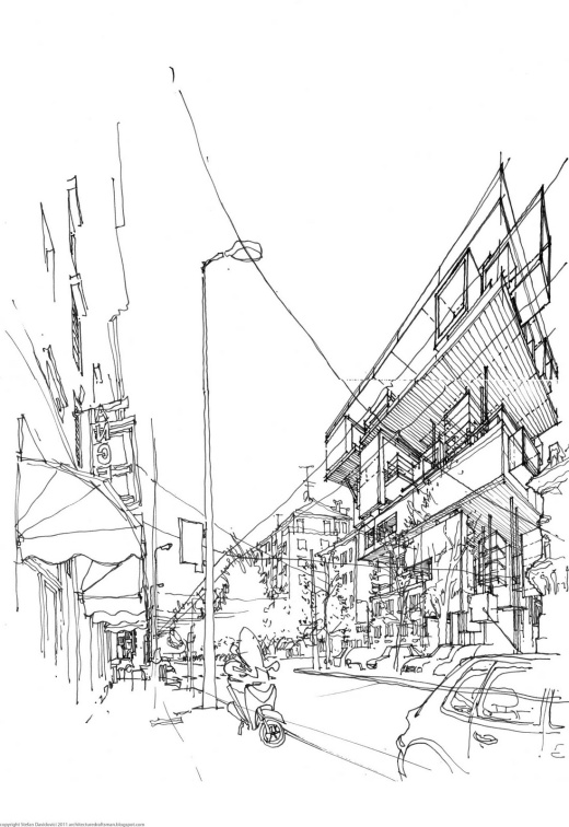 Un desen de arhitect
