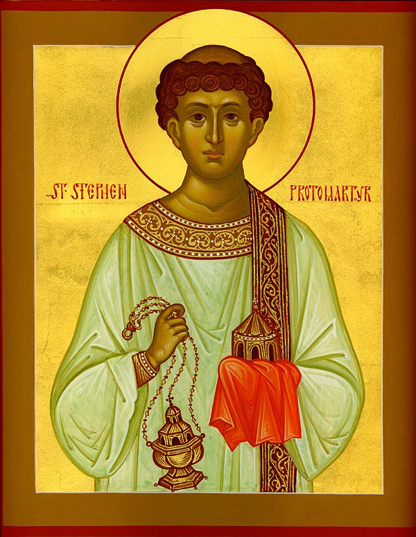 Saint Stefanos the First Martyr and Archdeacon — St. Andrew Greek orthodox  Church